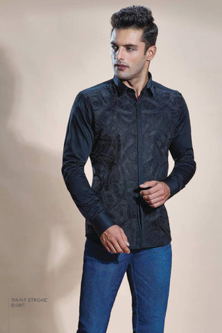 Quilted Zipper Shirt