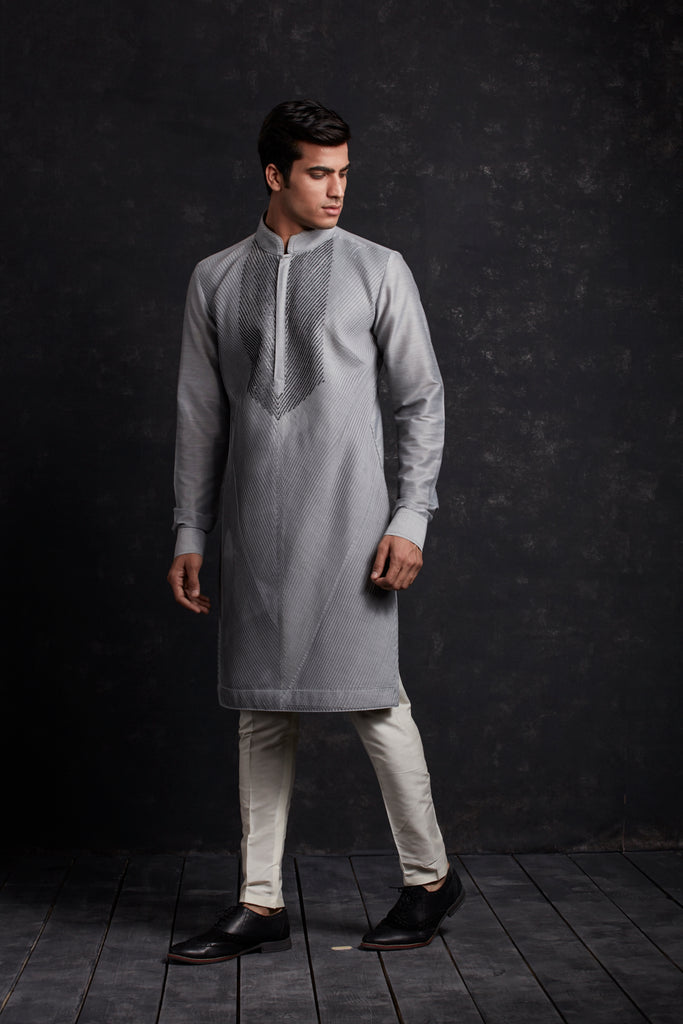 PINTUCK KURTA SET