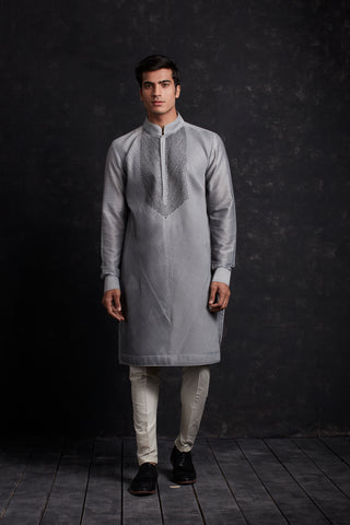 QUILTED long Bundi