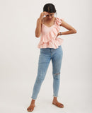 CANDY FLOSS Ruffle Top