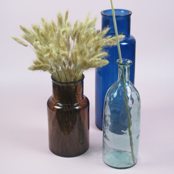 Our vases: 100% Recycled Glass