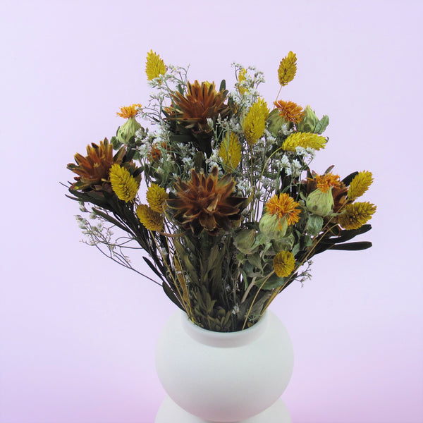 "NEW ""Exotic Queen"" Dried Flower Bouquet"
