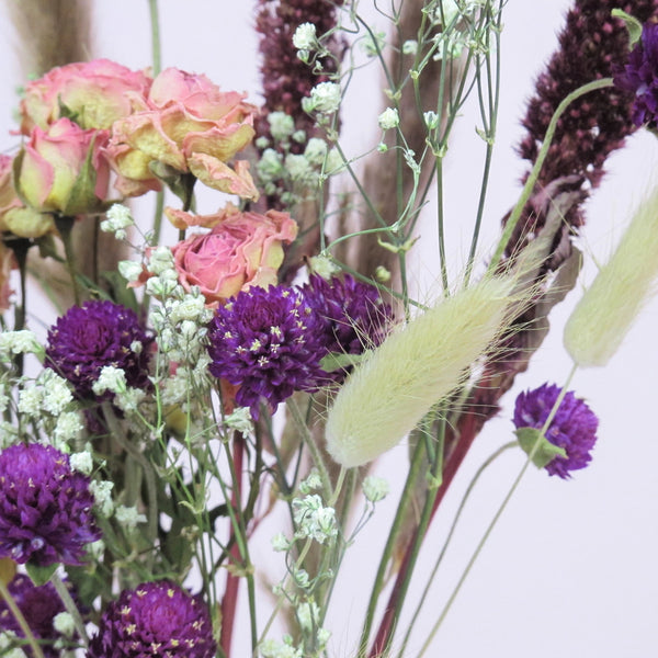 "NEW ""Amaranth Elegance"" Dried Flower Bouquet"