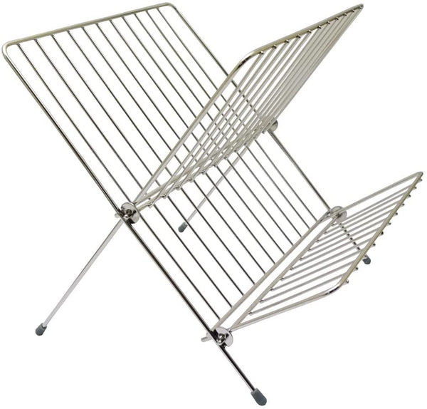 Stainless Steel Folding Plate Rack