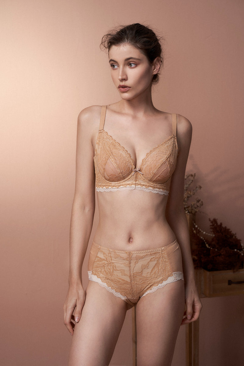 Phoenix nude Lace Highwaist Panties