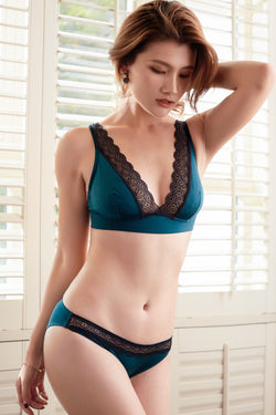 French Resistance turquoise Thong
