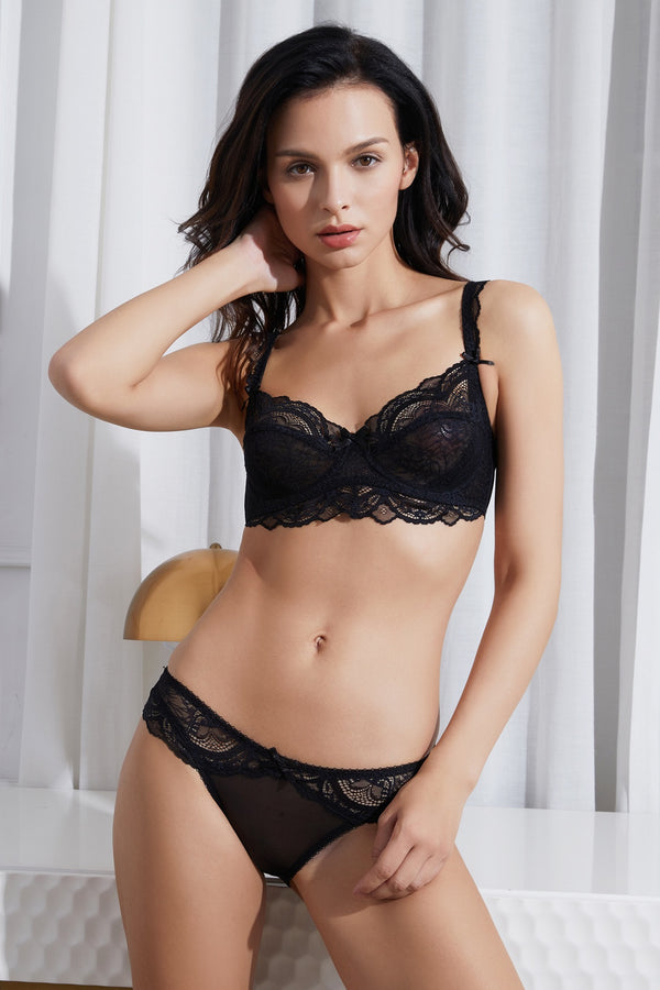 Dani Black Lace underwire Bra
