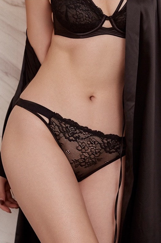 Seen-Heard lace G-string