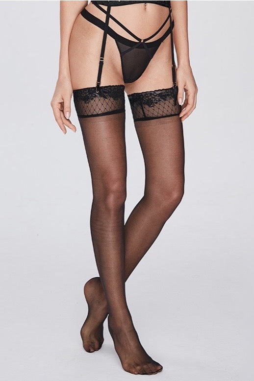 La libertà Black lingerie Stockings