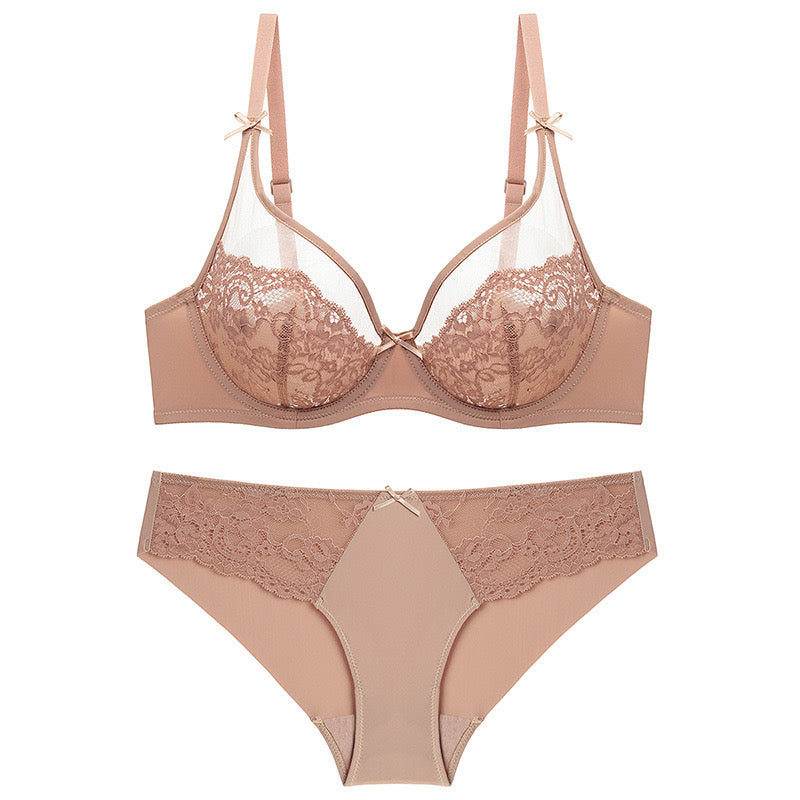 Olivi nude Lace full brief