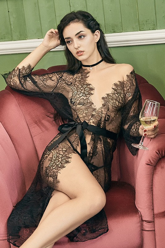 Serendipity Sheer Lace Wrap