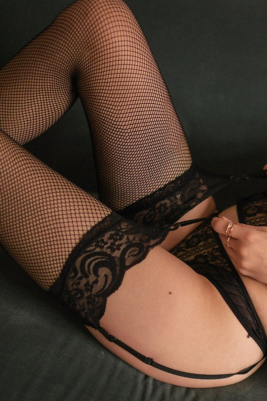 Fishnet Stay up lingerie stockings