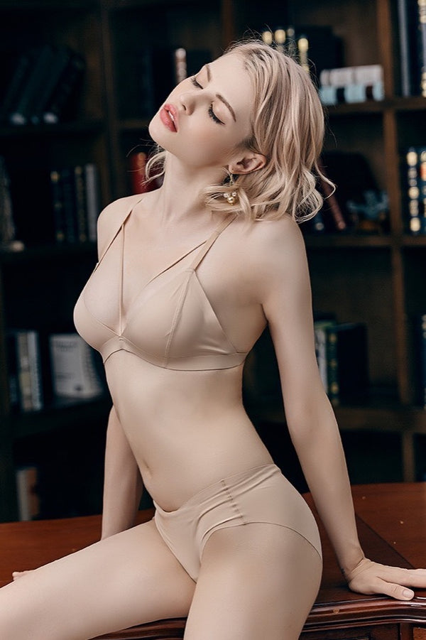 Forte nude wirefree bra