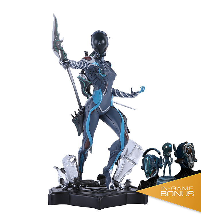 mag limited edition collector s statue the official warframe store