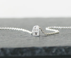 TROTS - PRIDE / miniature dutch house necklace in sterling silver
