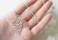 Load image into Gallery viewer, ZITUN / moroccan inspired necklace in sterling silver