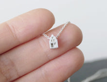 Load image into Gallery viewer, LEUK - NICE / miniature dutch house necklace in sterling silver