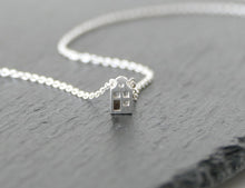 Load image into Gallery viewer, LIEF - ADORABLE / miniature dutch house necklace in sterling silver