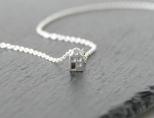 LIEF - ADORABLE / miniature dutch house necklace in sterling silver