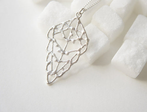 ZITUN / moroccan inspired necklace in sterling silver