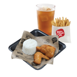 1pc Chicken with Fries Boxed Meal