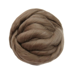 Merino / Silk  Roving, ( Earth )