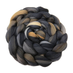 New! Superfine merino wool roving 19 microns 4 oz,Tempera Collection (Autumn)
