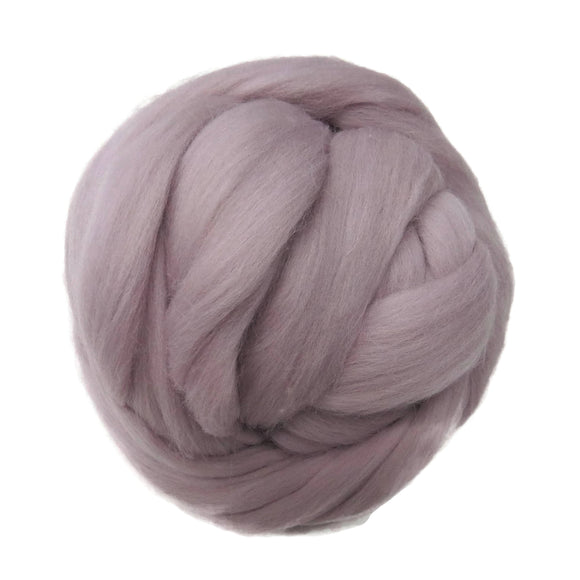 SALE! 21.5mic Merino Wool Roving , Color: Soft Heather