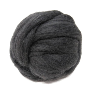SALE! 21.5mic Merino Wool Roving , Color: Salt & Pepper ( heathered)