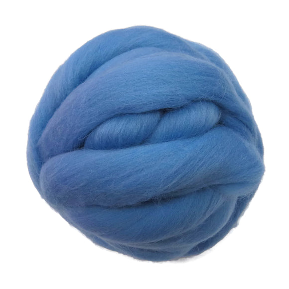 SALE! 21.5mic Merino Wool Roving , Color: Winter Wonderland