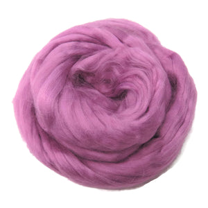Viscose Fiber for felting ,spinning, paper making and art batts . color: Primrose