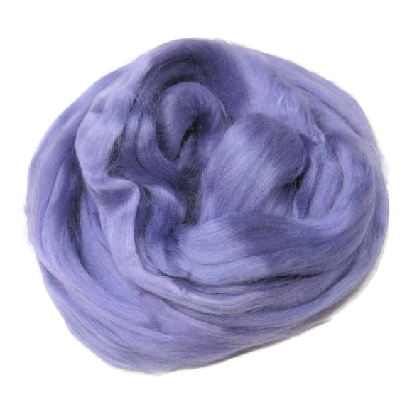 Viscose Fiber for felting ,spinning, paper making and art batts . color: Lavender