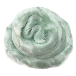 Viscose Fiber for felting ,spinning, paper making and art batts . color: Lily of the Valley