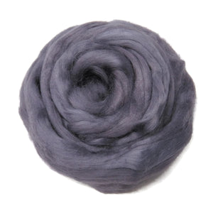 Viscose Fiber for felting ,spinning, paper making and art batts . color: Fog