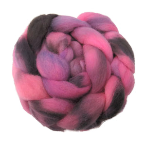 Hand-dyed Wensleydale wool roving (6)