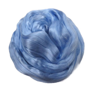 1 oz (28g) Mulberry Silk roving AA,  color: Sunrise