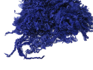 1oz, Prime Teeswater wool locks, JD-9  color: Purple