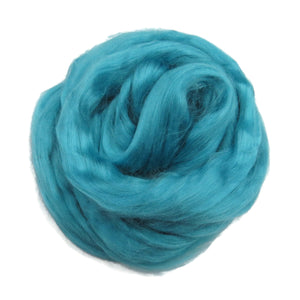 Viscose Fiber for felting ,spinning, paper making and art batts . color: Water