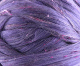 Merino, Tweed Wool Roving  and bamboo blend , color:  Legacy