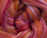New! Blended  merino / Bamboo wool roving,  2oz or 4 oz, color: Bonnie Bee