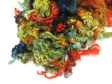 1 oz  Leicester Lamb wool locks , hand-dyed  ADF-34