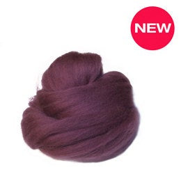 Merino superfine Wool Roving 19 microns ,:Onion