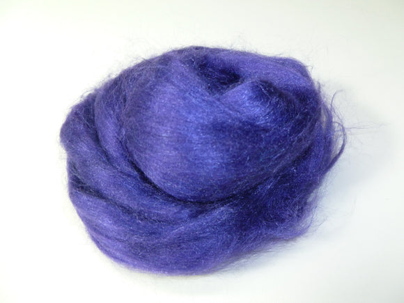 1 oz Tussah silk roving  , color Florence