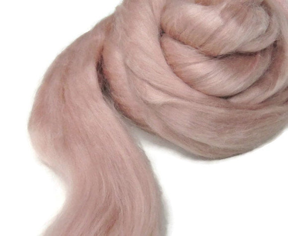 1 oz Tussah Silk Roving , Shell