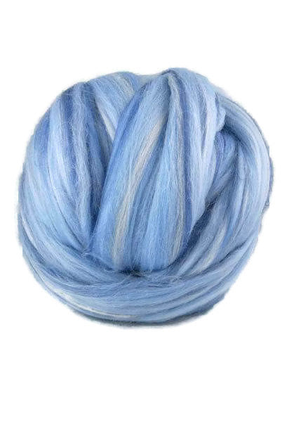 Superfine merino wool roving 19 microns 4 oz,color blend (Garconne)