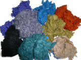 Wool Slubs 1 oz ,color: Mix