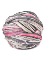 Superfine merino wool roving 19 microns 4 oz,color blend (Jazz)
