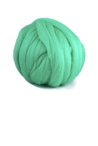 Superfine wool roving 19 micron, color: Millet
