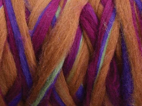 Corriedale Stripey Roving