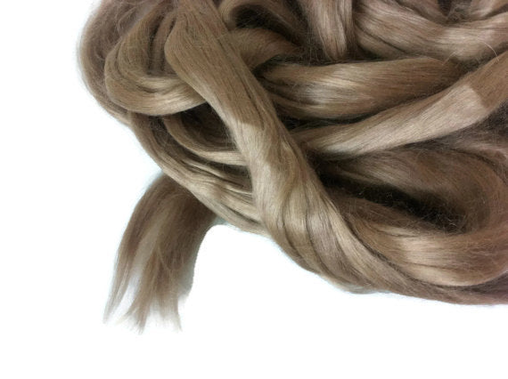 Ramie Roving : Ramie fibers in tones of Earth